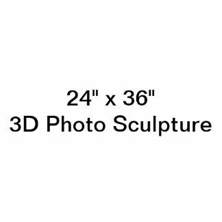 Het gepersonaliseerde 24 Beeldhouwwerk van de Foto Staand Fotobeeldje