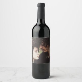 Het gepersonaliseerde Etiket van de Wijn met Foto