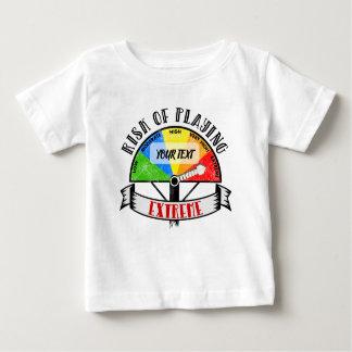 Het gepersonaliseerde Grappige ontwerp van de Baby T Shirts