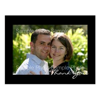 Het gepersonaliseerde Huwelijk van de Foto dankt u Briefkaart