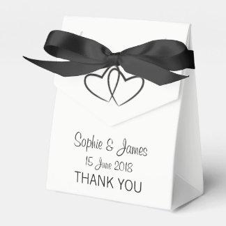 Het gepersonaliseerde Huwelijk van het Hart Bedankdoosjes