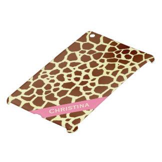 Het Gepersonaliseerde iPad MiniHoesje van de giraf iPad Mini Hoesje