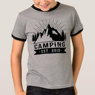 Het gepersonaliseerde Kamperen T Shirt