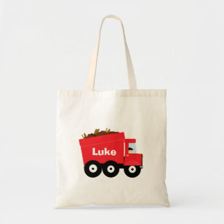Het gepersonaliseerde Kinder Rode Canvas tas van