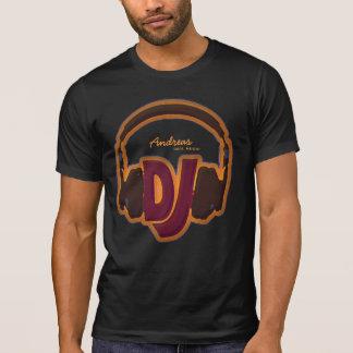 het gepersonaliseerde koele t-shirt van DJ