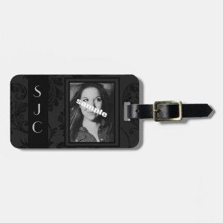 Het gepersonaliseerde Label van de Foto & Luxe van Bagagelabel