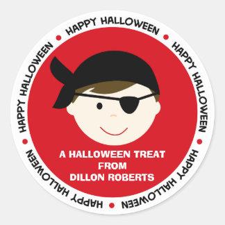 Het gepersonaliseerde Label van de Gunst van de Ronde Stickers