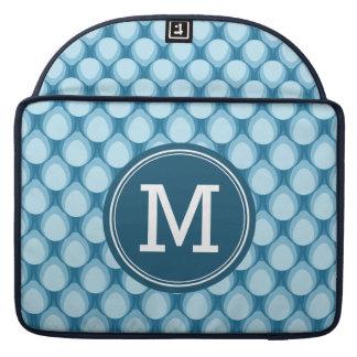 Het gepersonaliseerde Monogram van de Traan van de MacBook Pro Beschermhoezen