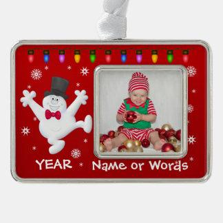 Het gepersonaliseerde Ornament van de Foto van