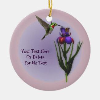 Het Gepersonaliseerde Ornament van de Iris van de