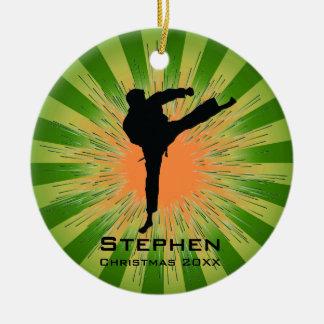 Het gepersonaliseerde Ornament van de Karate