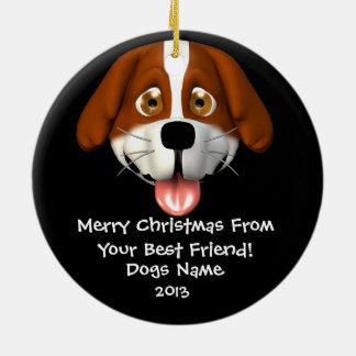 Het gepersonaliseerde Ornament van Kerstmis van