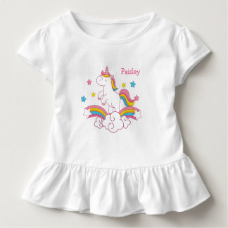 Het gepersonaliseerde overhemd van de Eenhoorn van Kinder Shirts