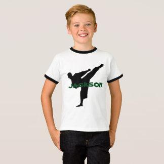 Het gepersonaliseerde Overhemd van de Karate T Shirt