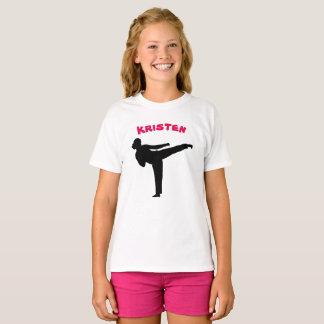 Het gepersonaliseerde Overhemd van het Meisje van T Shirt