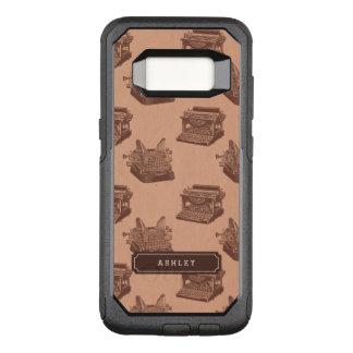 Het gepersonaliseerde Patroon van de OtterBox Commuter Samsung Galaxy S8 Hoesje