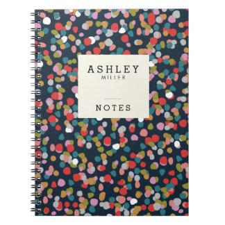Het gepersonaliseerde Stip Ashley van | Ringband Notitieboek