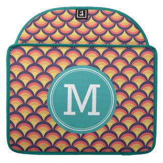 Het gepersonaliseerde Veelkleurige Geometrische MacBook Pro Beschermhoezen