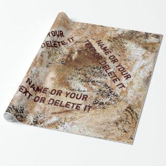 Het gepersonaliseerde Verpakkende Document van de Inpakpapier