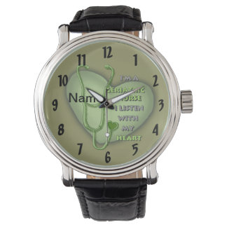 Het geriatrische Groene Hart van de Verpleegster Horloge