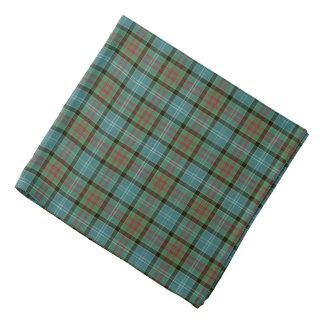 Het Geruite Schotse wollen stof Bandana van het