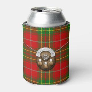 Het Geruite Schotse wollen stof en het Tasje van Blikjeskoeler