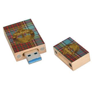 Het Geruite Schotse wollen stof & Motief