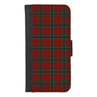 Het Geruite Schotse wollen stof Schotse Moderne iPhone 8/7 Portemonnee Hoesje