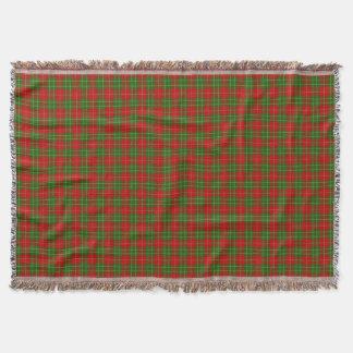 Het Geruite Schotse wollen stof van Burnett van de Deken
