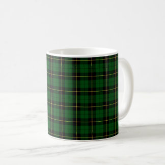 Het Geruite Schotse wollen stof van de Jacht van Koffiemok