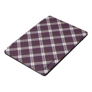 Het Geruite Schotse wollen stof van de Kleding van iPad Pro Cover