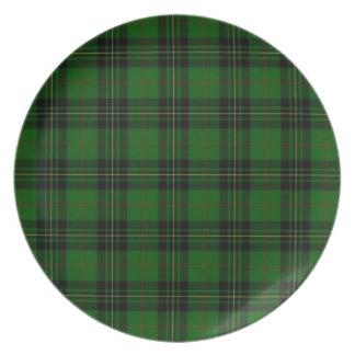Het Geruite Schotse wollen stof van Forbes van de Party Borden
