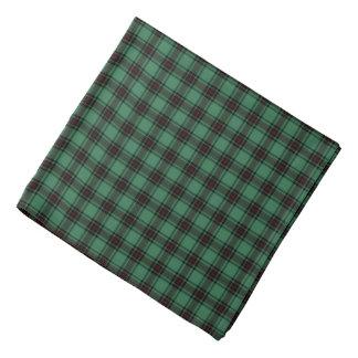 Het Geruite Schotse wollen stof van het District Bandana