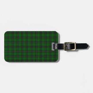Het Geruite Schotse wollen stof van MacLean Bagagelabel