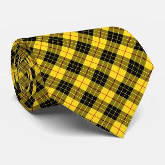 Het Geruite Schotse wollen stof van MacLeod van de Persoonlijke Stropdassen