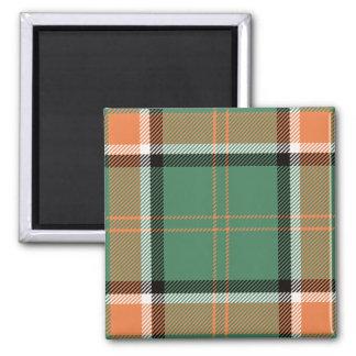 Het Geruite Schotse wollen stof van Pollock van de Magneet