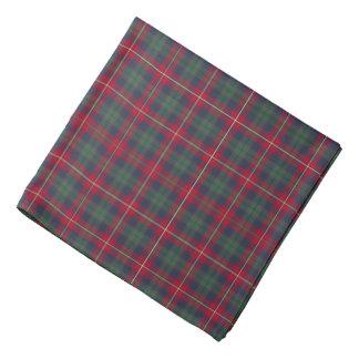 Het Geruite Schotse wollen stof van Robertson van Bandana