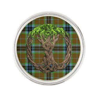 Het Geruite Schotse wollen stof van Thomson van de Reverspeld