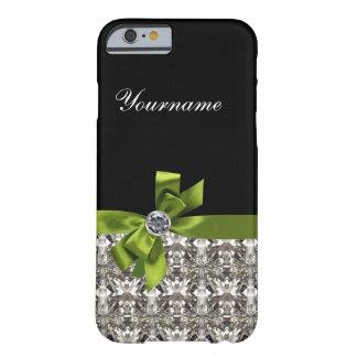 Het gesimuleerde Juweel Bling van het Bergkristal Barely There iPhone 6 Hoesje