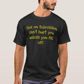 Het geslacht op televisie kan niet u kwetsen, t shirt
