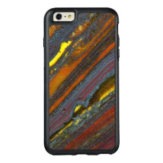 Het gestreepte Australische Oog van de Tijger OtterBox iPhone 6/6s Plus Hoesje