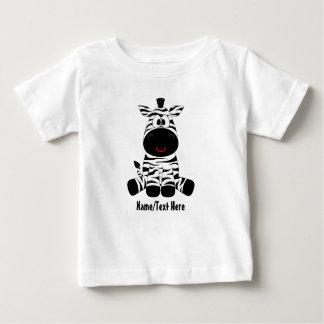 Het gestreepte baby is leuk baby t shirts