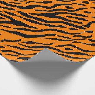 Het gestreepte verpakkende document van de tijger inpakpapier