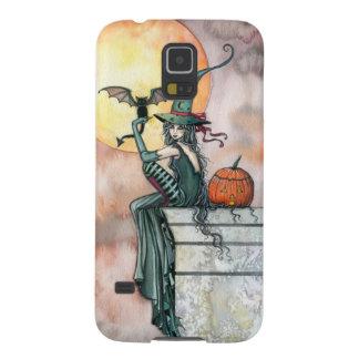 Het getikte Art. van de Fantasie van de Heks van Galaxy S5 Hoesje