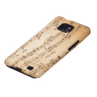 Het Geval van de Melkweg S van Samsung van muziekn Galaxy SII Hoesjes