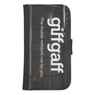 Het geval van de Melkweg van Samsung van Giffgaff Galaxy S4 Portemonnee Hoesje