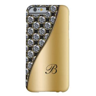 Het Geval van het Bergkristal van het monogram Barely There iPhone 6 Hoesje