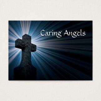 Het geven de Zorg van de Verzorging van Engelen Visitekaartjes