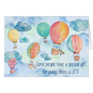 Het geven van een Lift Kaart