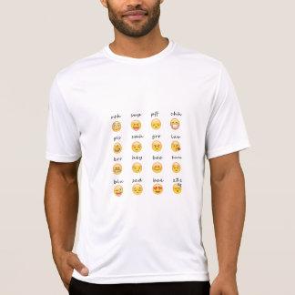 Het Gevoel van Emoji T Shirt